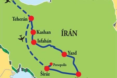 Dovolenka  - Irán - Velký okruh po Íránu