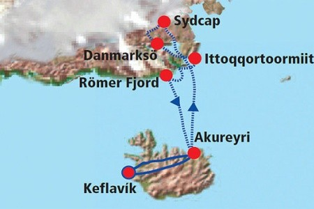 Dovolenka  - Grónsko - Grónsko