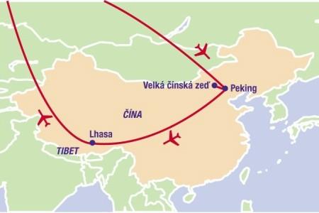 Dovolenka 2015 - Malý okruh Čínou s návštěvou Tibetu