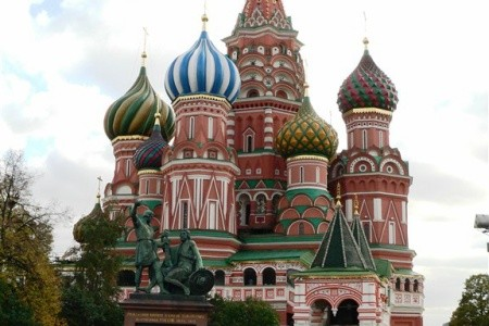 Dovolenka  - Rusko - Moskva - víkendy