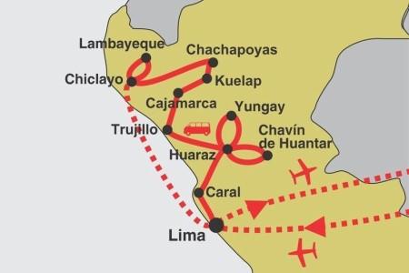 Dovolenka  - Peru - Kultury severního Peru