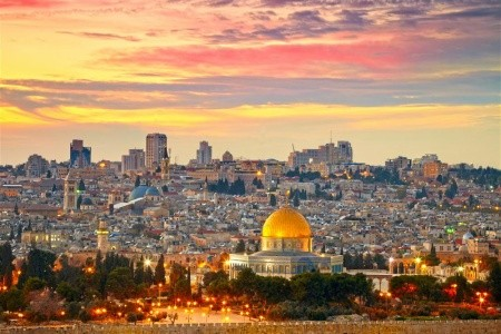 Dovolenka  - Izrael - Jeruzalém a Betlém - prodl. letecký víkend