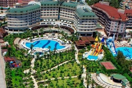 Turecko Turecká riviéra Saphir Resort & Spa 15 dňový pobyt All Inclusive Letecky Letisko: Košice júl 2021 (29/07/21-12/08/21)