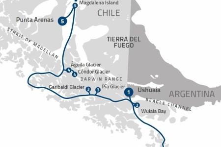 Dovolenka  - Argentína - Patagonian Explorer Na Lodi Ventus Australis