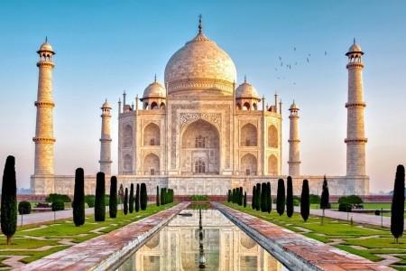 Dovolenka  - India - ZLATÝ INDICKÝ TROJUHELNÍK