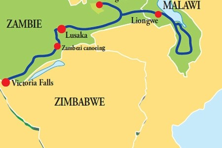Dovolenka  - Zimbabwe - Zambie – Malawi