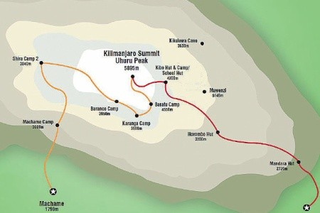 Dovolenka  - Kilimandžáro cestou Marangu_2018