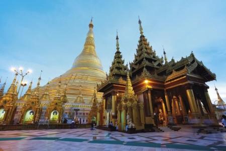 Dovolenka  - Barma - Barma a Kambodža