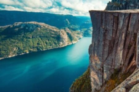 Nórske fjordy sú umeleckými dielami prírody