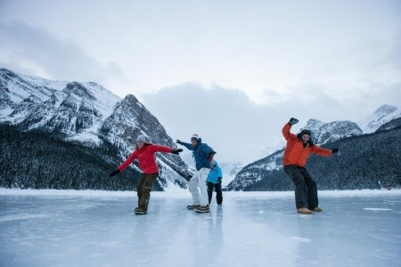Dovolenka  - Kanada - KANADA – velikonoční lyžování, bruslení a termály