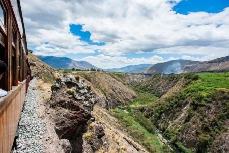 Dovolenka  - Ekvádor - VLAKEM NAPŘÍČ ANDAMI
