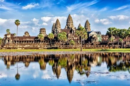 Dovolenka  - Kambodža - Chrámy Angkoru, velkoměsto Phnom Penh a pláž Sihanoukville