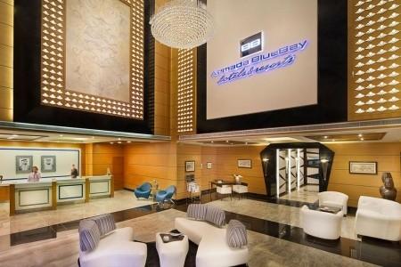 Spojené arabské emiráty Dubaj Armada Bluebay 8 dňový pobyt Polpenzia Letecky Letisko: Viedeň júl 2020 (15/07/20-22/07/20)
