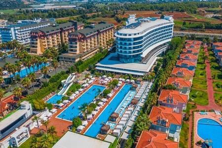 Turecko Turecká riviéra Q Premium Resort 8 dňový pobyt Ultra All inclusive Letecky Letisko: Bratislava august 2021 (18/08/21-25/08/21)