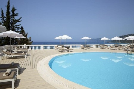 Grécko Korfu Mayor La Grotta Verde Grand Resort 8 dňový pobyt Polpenzia Letecky Letisko: Bratislava august 2021 (30/08/21- 6/09/21)
