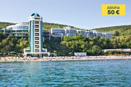 Bulharsko Sveti Vlas Paradise Beach 15 dňový pobyt All Inclusive Letecky Letisko: Bratislava jún 2019 (18/06/19- 2/07/19)