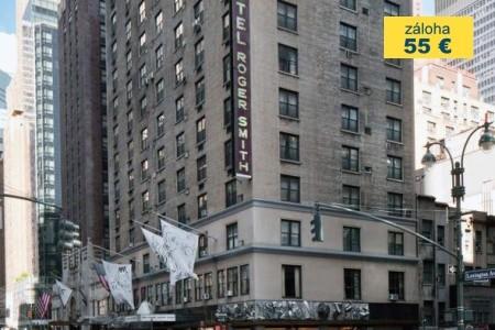 Dovolenka  - USA - Roger Smith Hotel