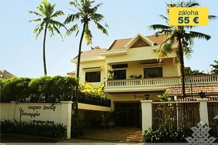 Dovolenka  - Kambodža - Angkor, velkoměsto Phnom Penh a pláž Sihanoukville