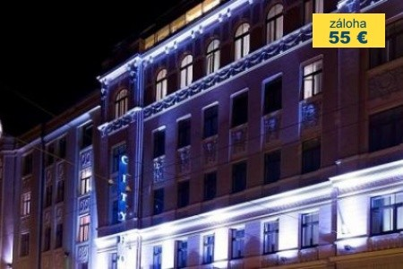 Dovolenka  - Lotyšsko - City Hotel Teater