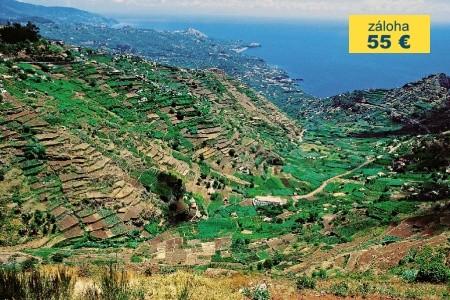 Dovolenka  - Madeira - Madeira s hvězdicovými výlety