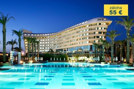 Dovolenka  - Turecko - Concorde Deluxe Resort