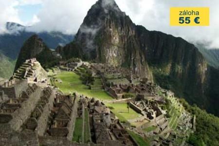 Dovolenka  - Peru - Cesta Inků (Inca Trail)