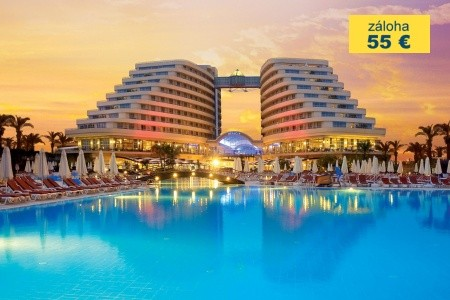 Dovolenka  - Turecko - Miracle Resort Hotel