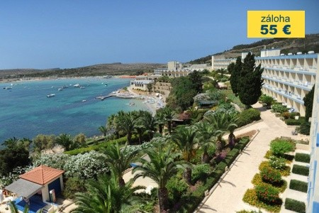 Dovolenka  - Malta - Mellieha Bay Hotel