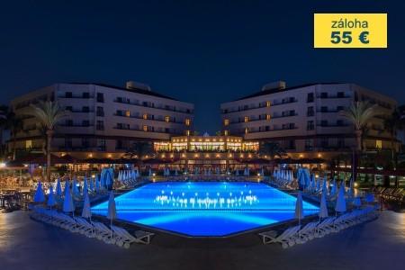 Dovolenka  - Turecko - Hotel Miramare Beach