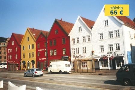 Dovolenka  - Nórsko - Norsko - vlakem a lodí od moře do hor