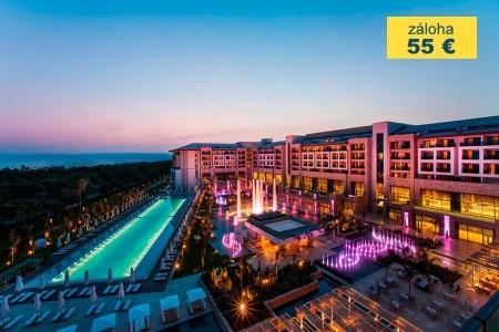 Dovolenka  - Turecko - Regnum Carya Golf & Spa Resort