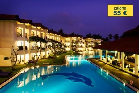 Dovolenka  - Srí Lanka - Club Hotel Dolphin
