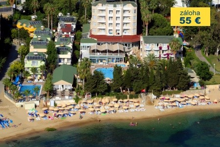 Dovolenka  - Turecko - Incekum Su Hotel - Rodinný Pokoj