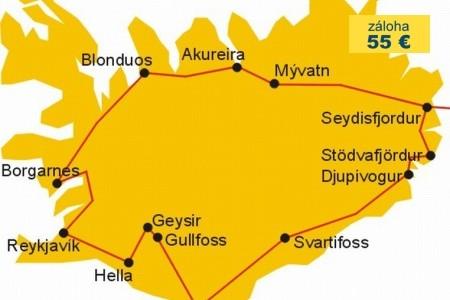 Dovolenka  - Island - Island + Faerské ostrovy