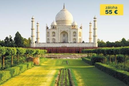 Dovolenka  - India - To nejlepší z Indie s prodl. v Dubaji
