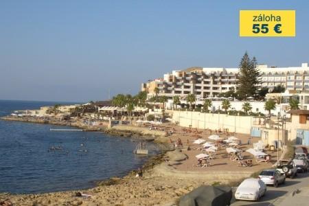 Dovolenka  - Malta - Hotel Euroclub - Dotované Pobyty 50+
