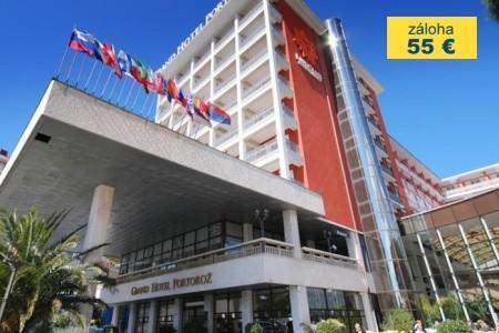 Dovolenka  - Slovinsko - Grand Hotel Portorož – Terme & Wellness Lifeclass