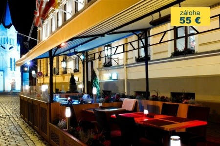 Dovolenka  - Lotyšsko - Grand Palace Hotel Riga