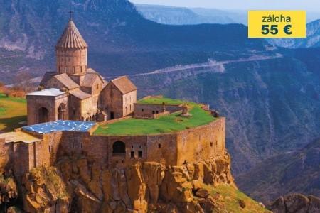 Dovolenka  - Arménsko - Nejkrásnějšími kouty Arménie