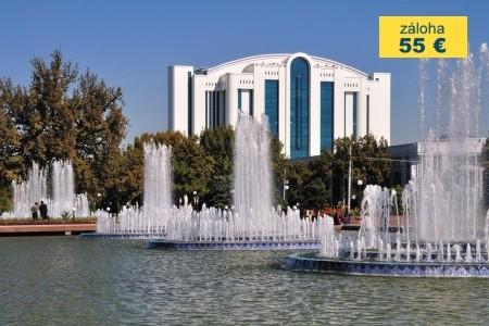 Dovolenka  - Uzbekistan - Perly Uzbekistánu - křižovatky Hedvábné stezky