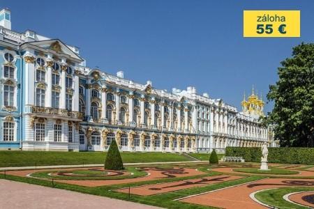 Dovolenka  - Rusko - RUSKO - Petrohrad (letecky) - 2018!