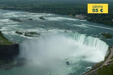 Dovolenka  - Kanada - KANADA - Niagara, Ontario a barevná divoká příroda