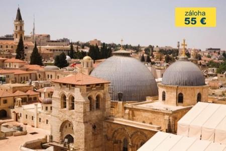 Dovolenka  - Izrael - BIBLICKÁ PALESTINA A SOUČASNÝ IZRAEL