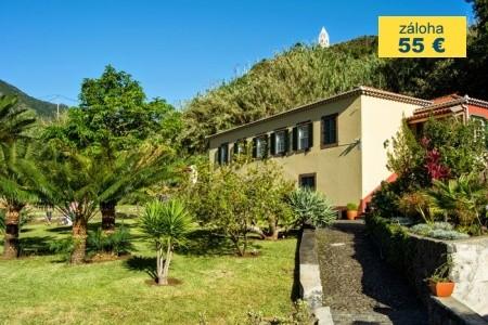 Dovolenka  - Madeira - Casa Da Piedade S Pronájmem Vozu
