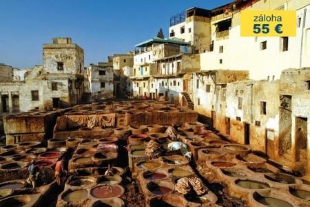 Dovolenka  - Maroko - OKRUH KRÁLOVSKÝMI MĚSTY