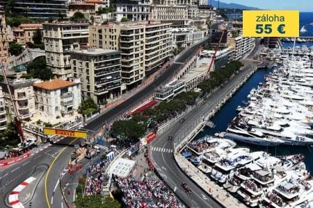 Dovolenka  - Monako - Formule 1 - Velká Cena Monaco 2018