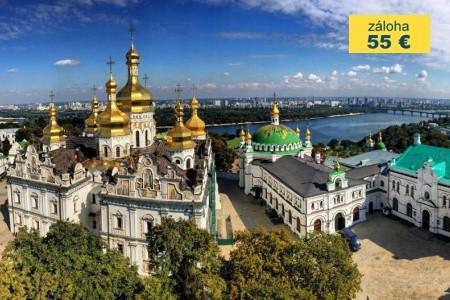 Dovolenka  - Ukrajina - KYJEV - MĚSTO, KDE SE ZNOVU PSALY DĚJINY