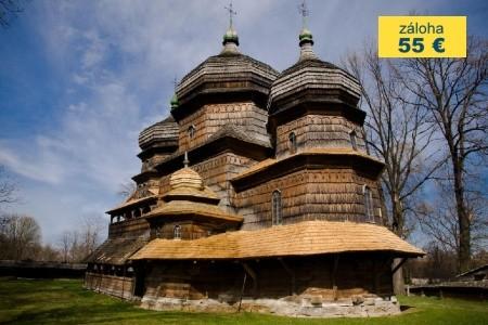 Dovolenka  - Ukrajina - KRAKOV, LVOV A PODKARPATSKÁ RUS