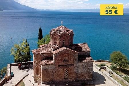 Dovolenka  - Macedónsko - Makedonie - divoké hory, krasová jezera a orientální města Balkánu