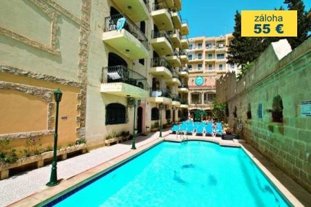 Dovolenka  - Malta - White Dolphin Apartments